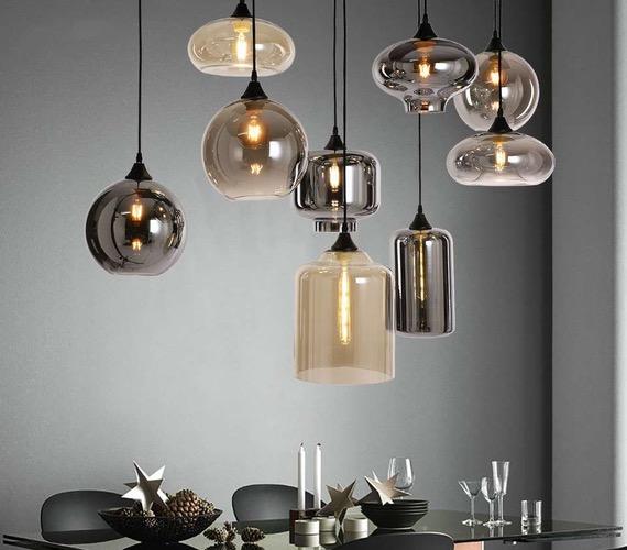 Maak je eigen glazen hanglamp