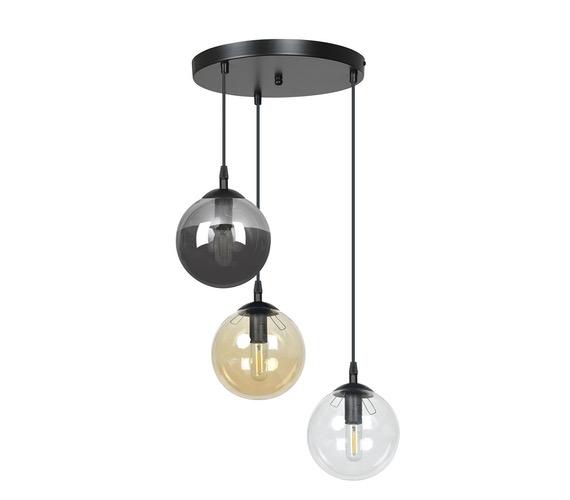 Glazen hanglamp Cosmo 3 Mix