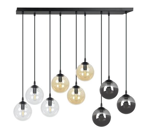 Glazen hanglamp Cosmo 9L Mix