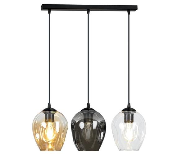 Glazen hanglamp Istar Line Mix