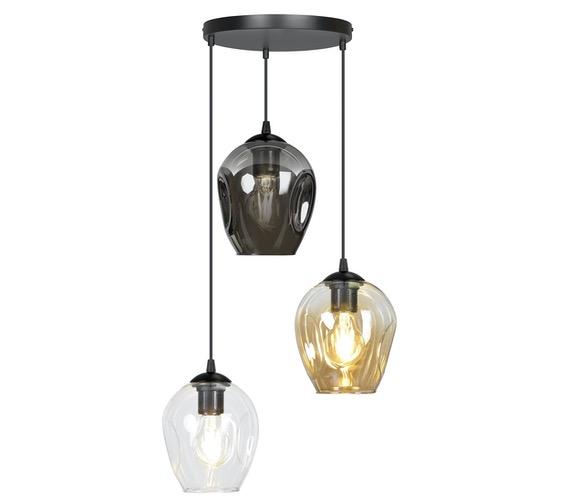 Glazen hanglamp Istar Mix