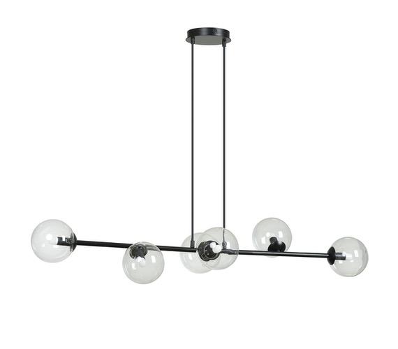 Glazen hanglamp Rossi 6