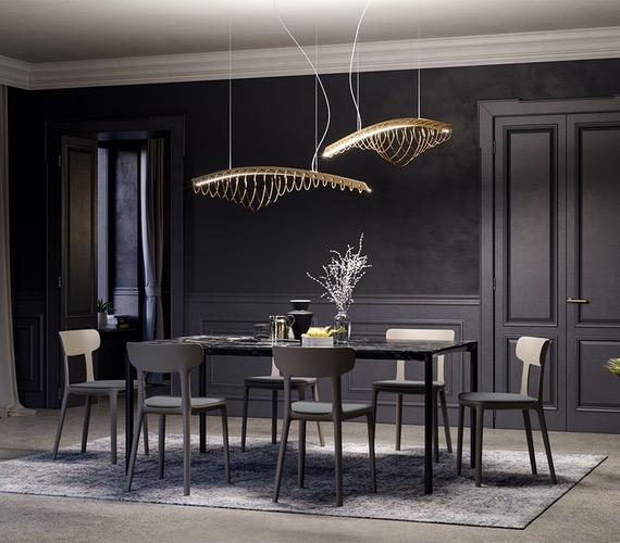 Design LED hanglamp Whale