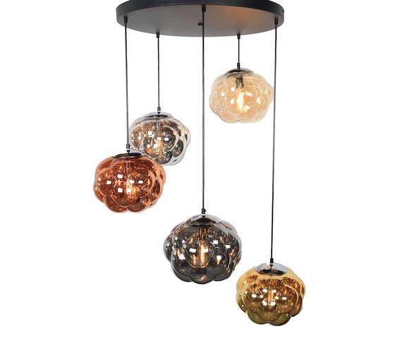 Glazen hanglamp Alliot