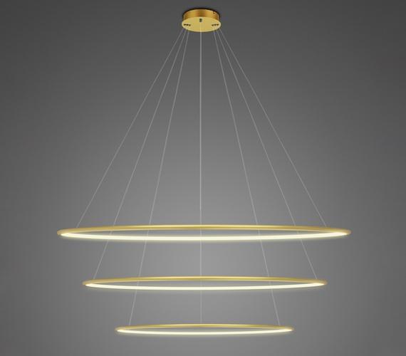 LED Ring No.3 Gold