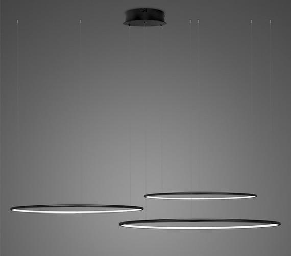 LED Ring No3 Horizon Black