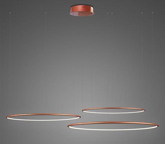 LED Ring No3 Horizon Copper