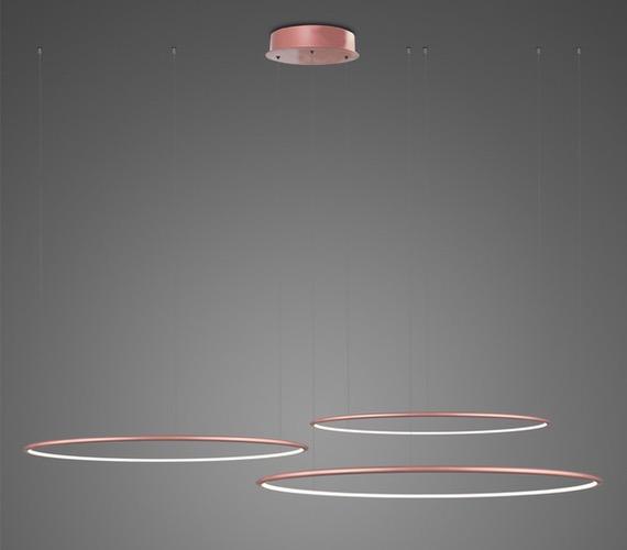 LED Ring No3 Horizon Rose Gold