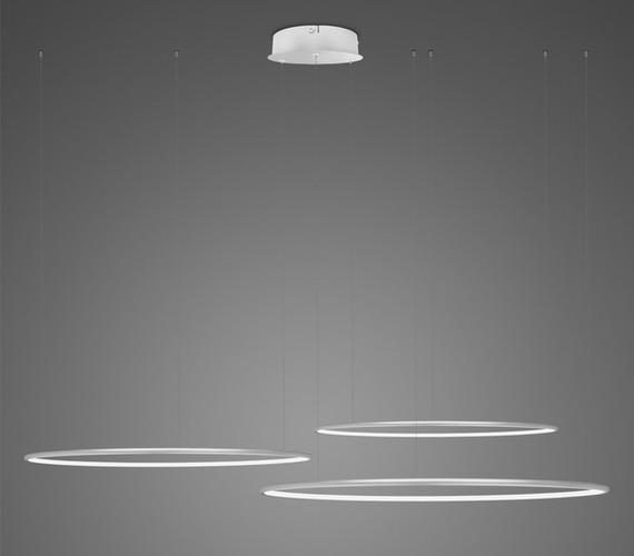 LED Ring No3 Horizon Silver