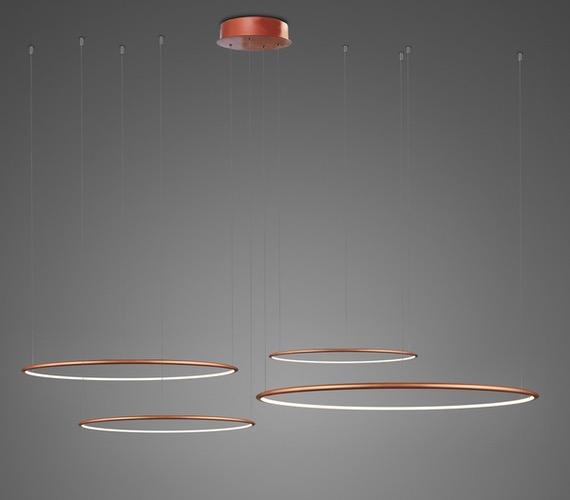 LED Ring No4 Horizon Copper
