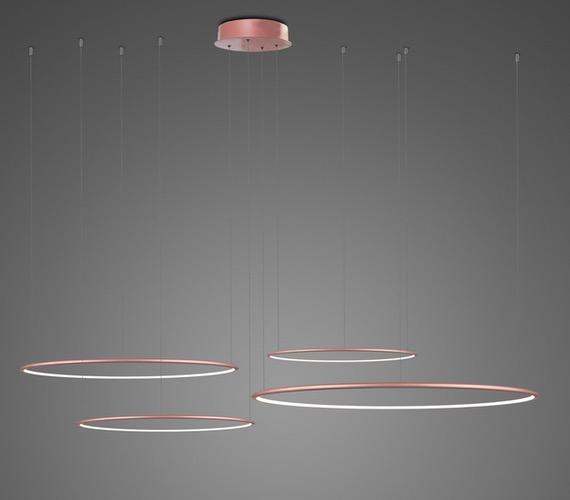 LED Ring No4 Horizon Rose Gold