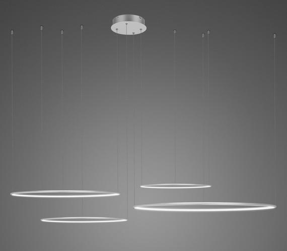 LED Ring No4 Horizon Silver