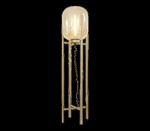 Vloerlamp Larino Goud