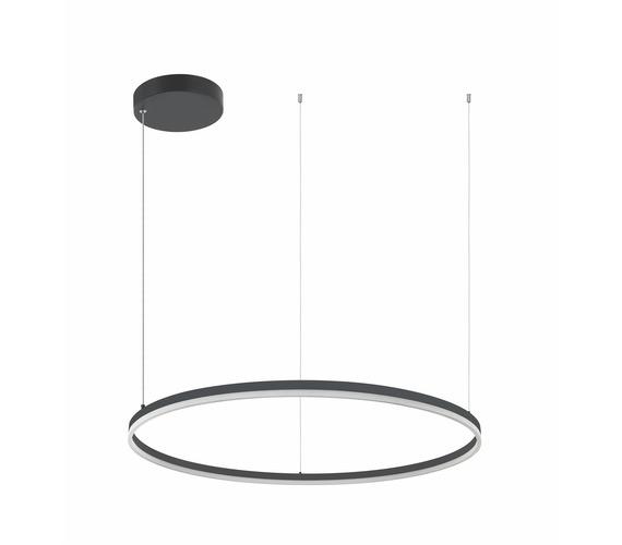 LED Ring Horizon Black