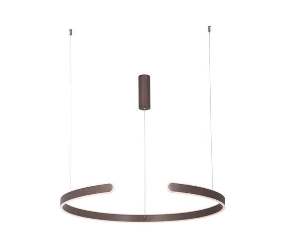 LED hanglamp Open Brown