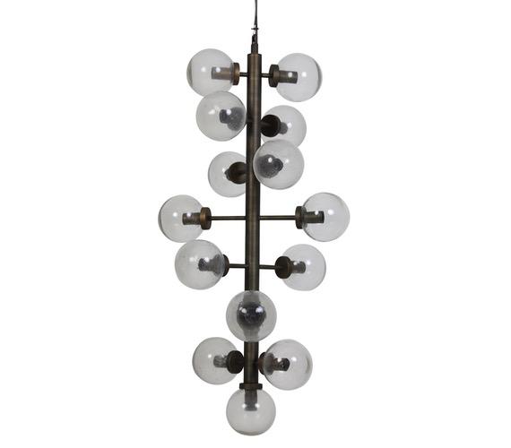 Glazen hanglamp Navello 15