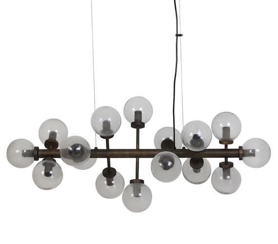 Glazen hanglamp Navello 16